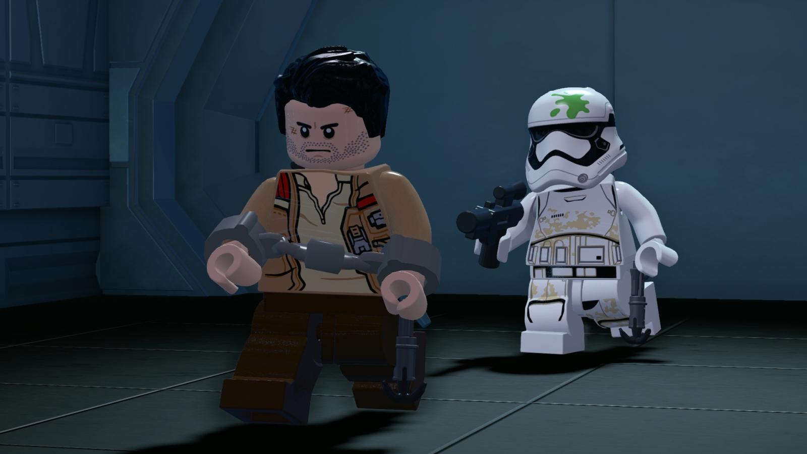 Lego Star Wars Force Awakens Poe Finn