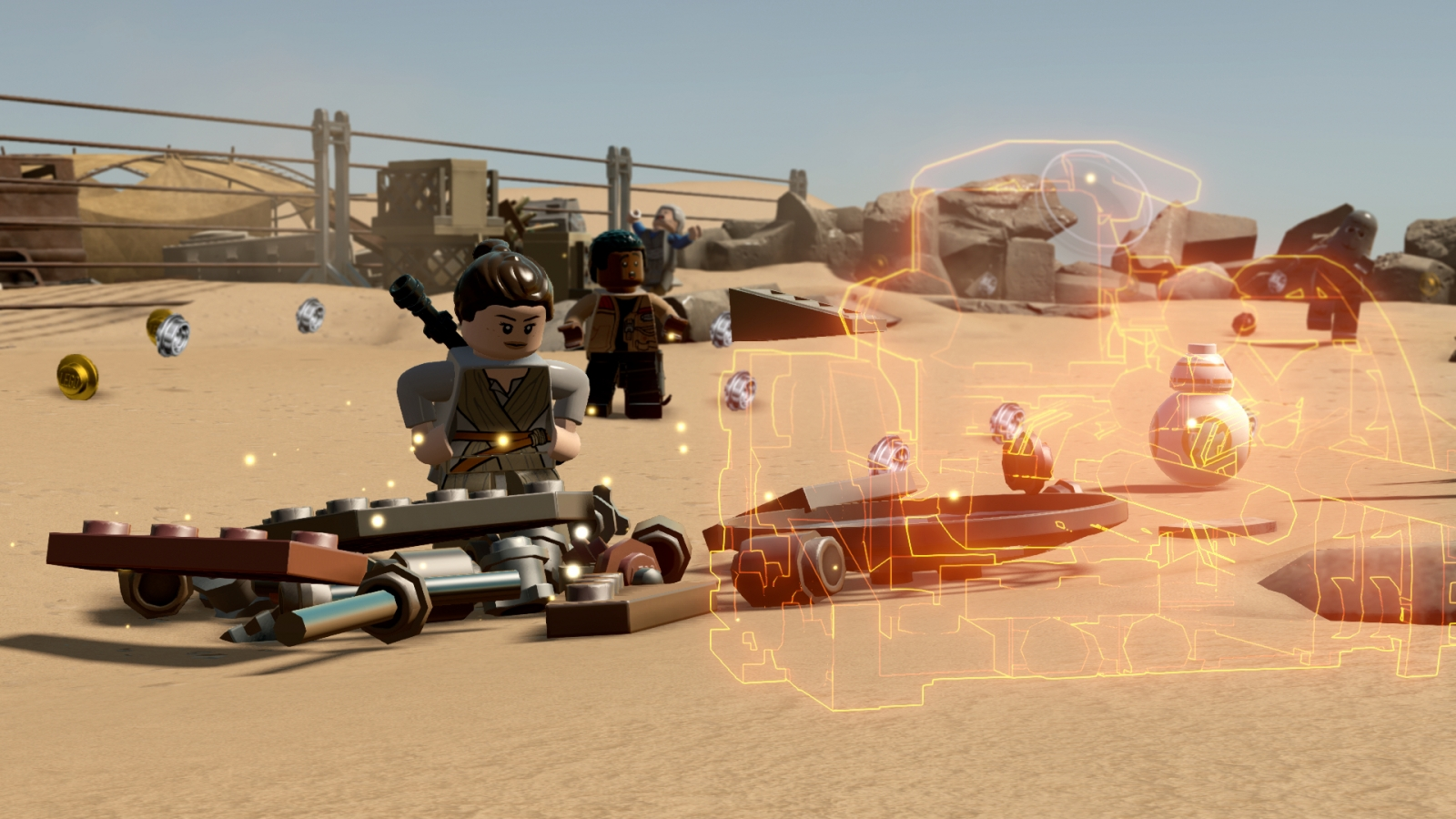 Lego Star Wars Force Awakens multi builds