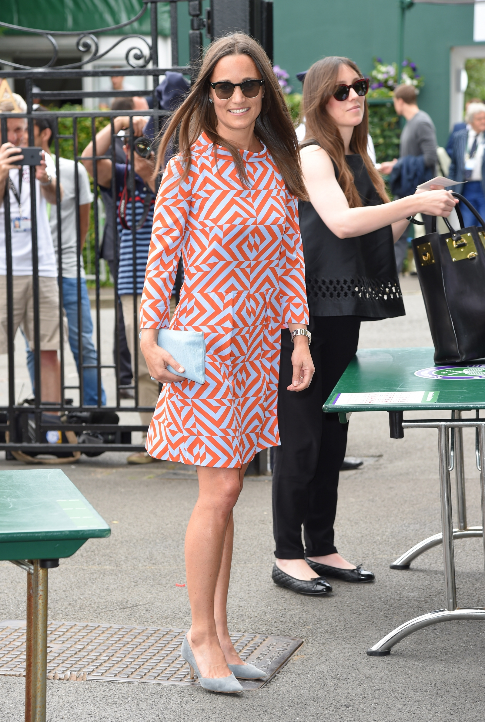 Wimbledon 2016 Pippa Middleton Brings 1960s Style To