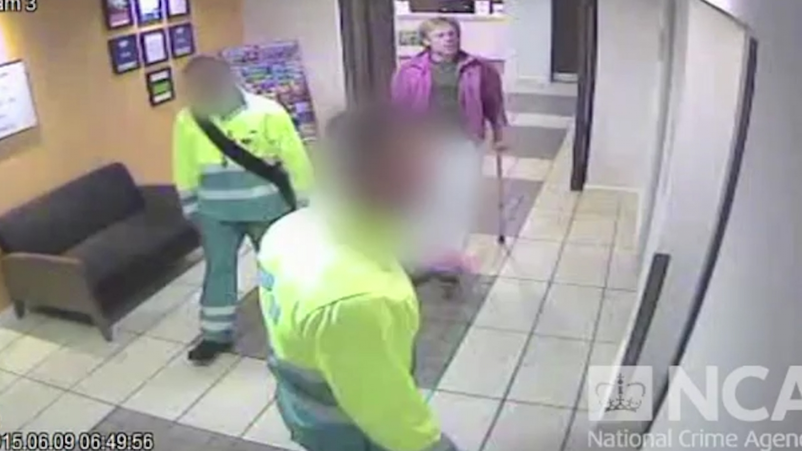 CCTV footage captures Bogus paramedics and fake patients in £1.6 billion drugs ring
