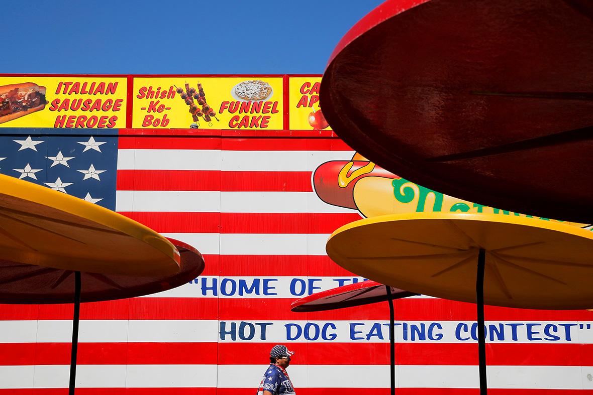 Nathan's Hot Dog Eating championship