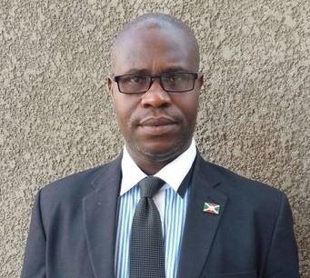 Burundi minister Martin Nivyabandi