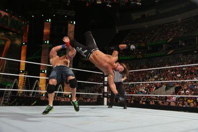 Money in the Bank Styles vs Cena