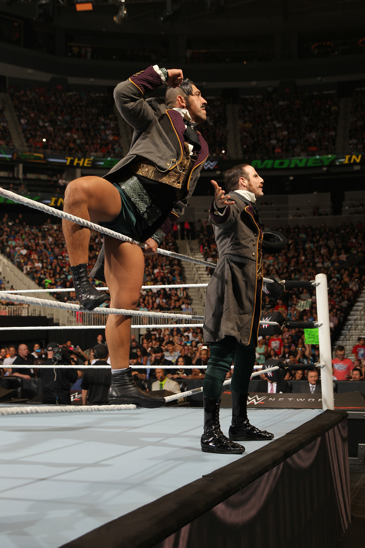 Money in the Bank: The Vaudevillains
