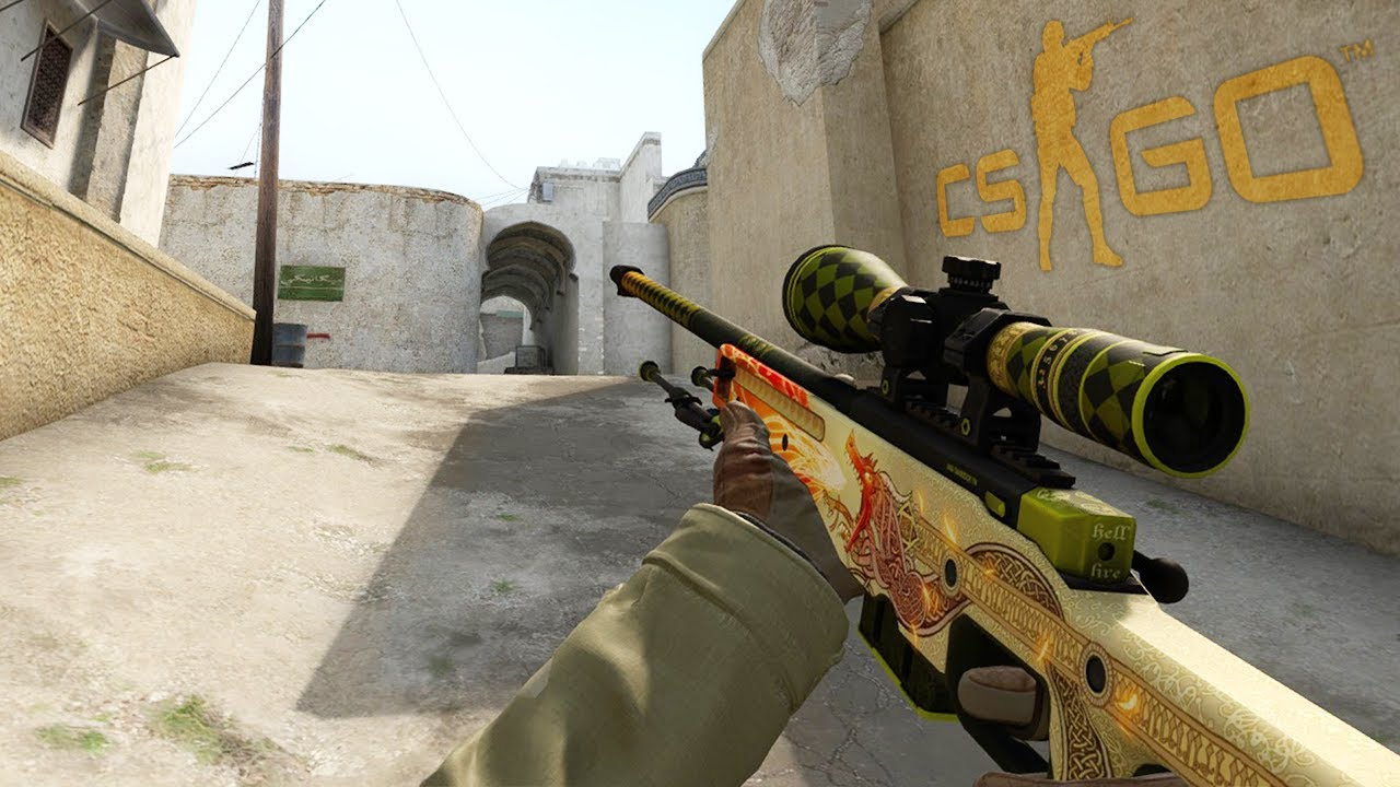 CS:GO Dragon Lore skin