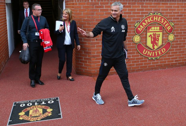 Jose Mourinho at Old Trafford