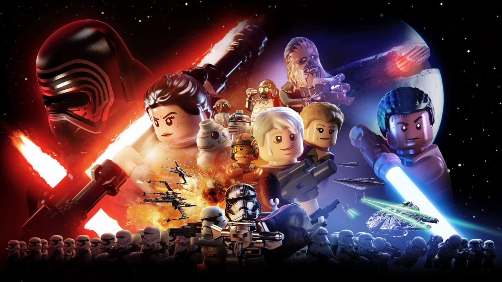Lego Star Wars Force Awakens main