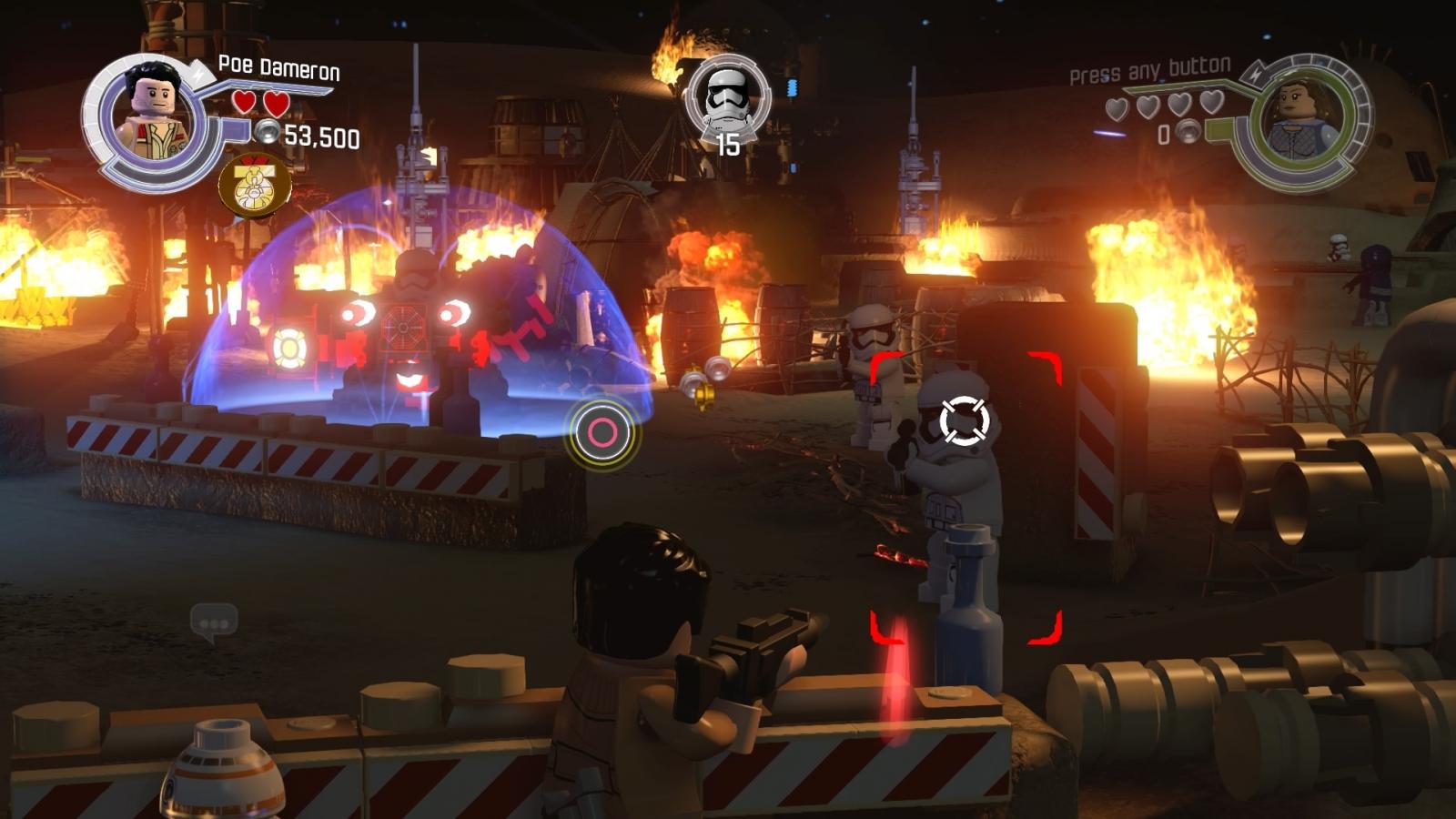 Lego Star Wars Force Awakens Blaster Battle