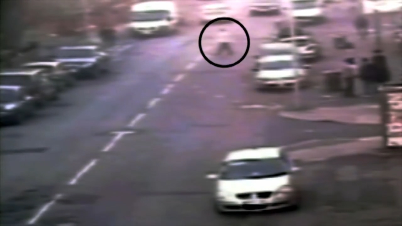 CCTV footage of attempted abduction