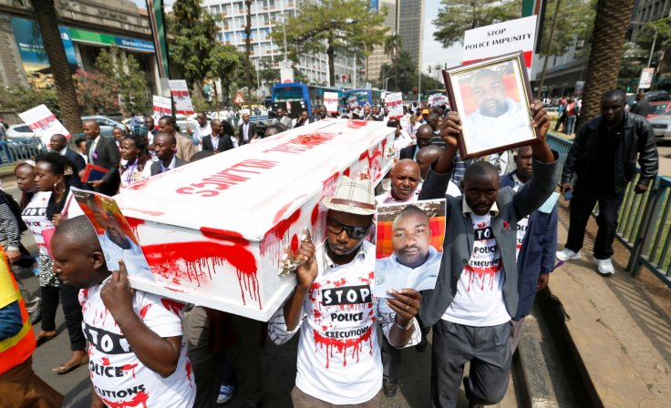 Protest over Willie Kimani killing