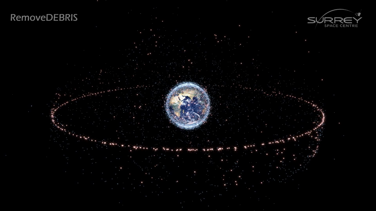 Cleaning up Space Junk