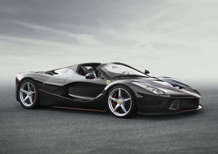 All new Ferraris to