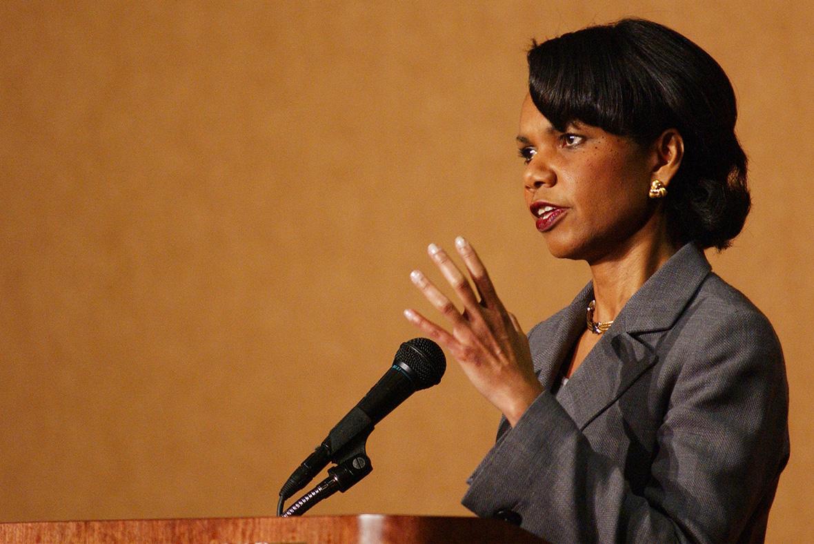 Chilcot: Condoleezza Rice