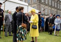 queen at Holyrood palace
