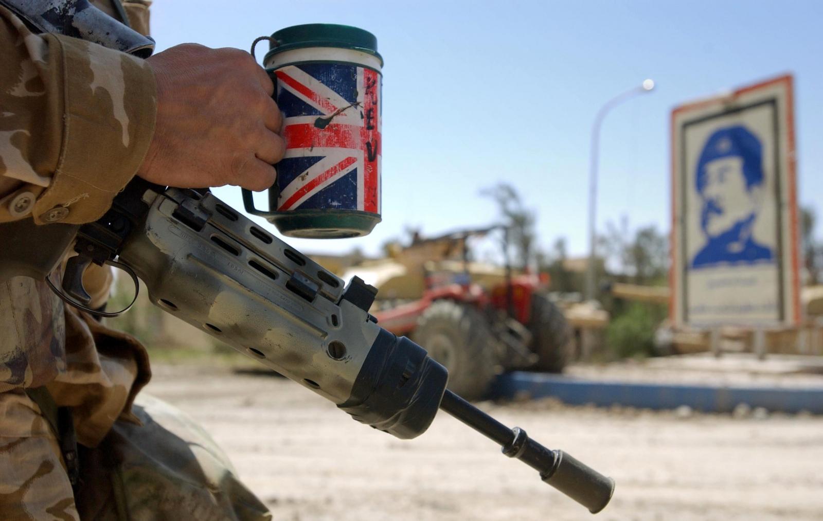 Basra troop