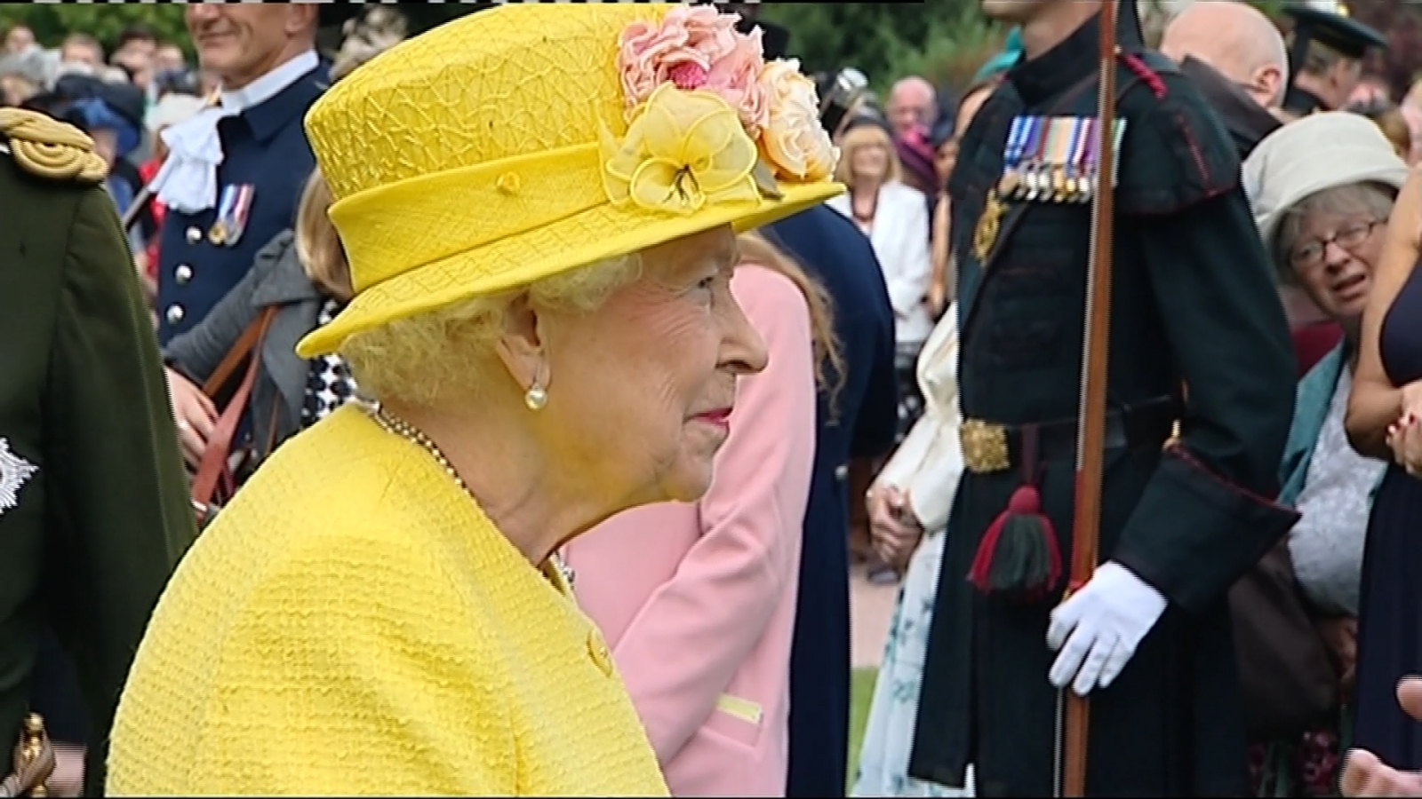 Queen at Holyrood