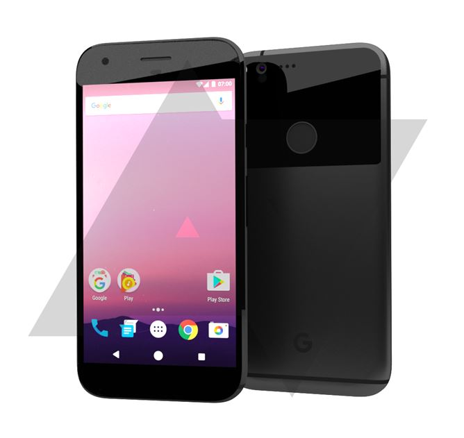 HTC Nexus 2016 render
