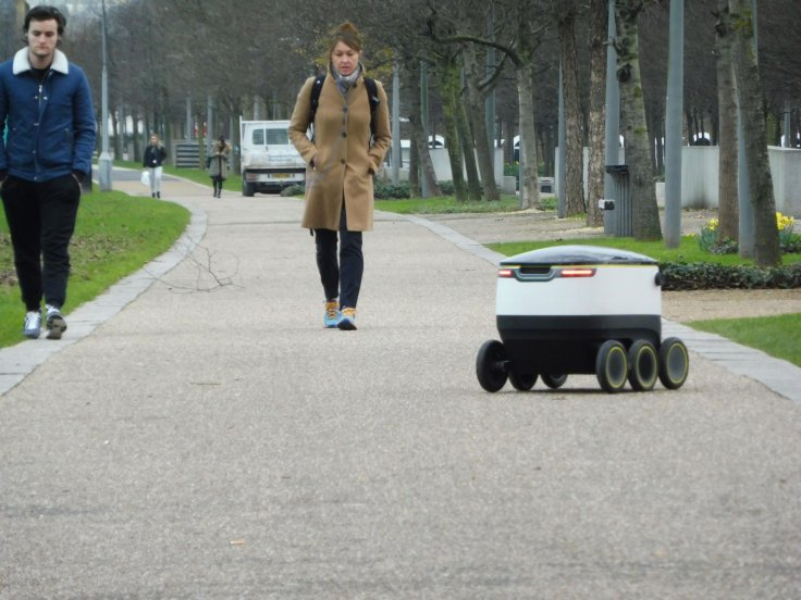 Starship Technologies delivery robot in London
