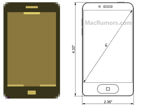Unofficial Mac Site Claims to have Uncovered Design Image of New Apple iPhone