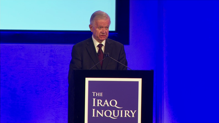 Chilcot report condemns Tony Blair's rush to war in Iraq