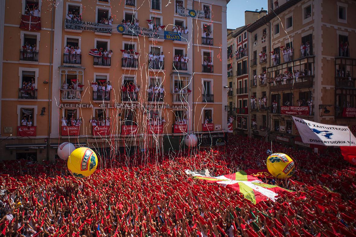 Pamplona San Fermin 2016