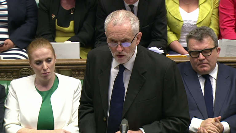 Chilcot report: Corbyn reaction