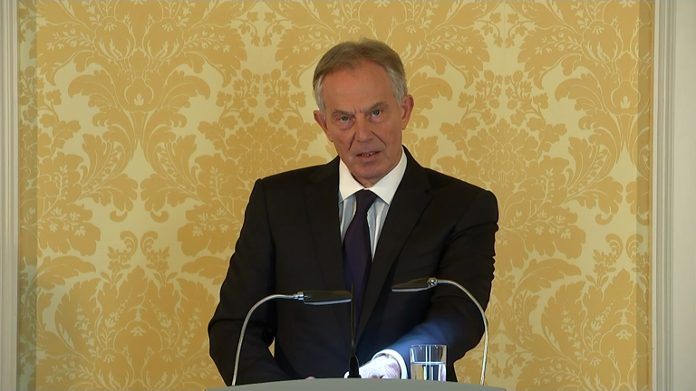 Chilcot report: Blair reaction