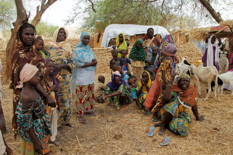 Niger welcomes refugees