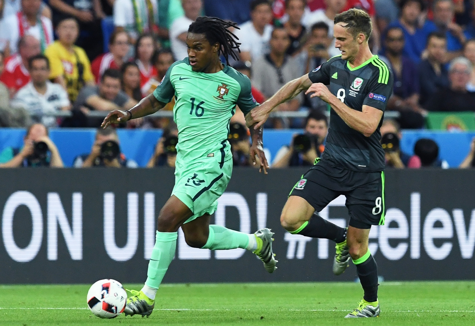 Renato Sanches on the ball
