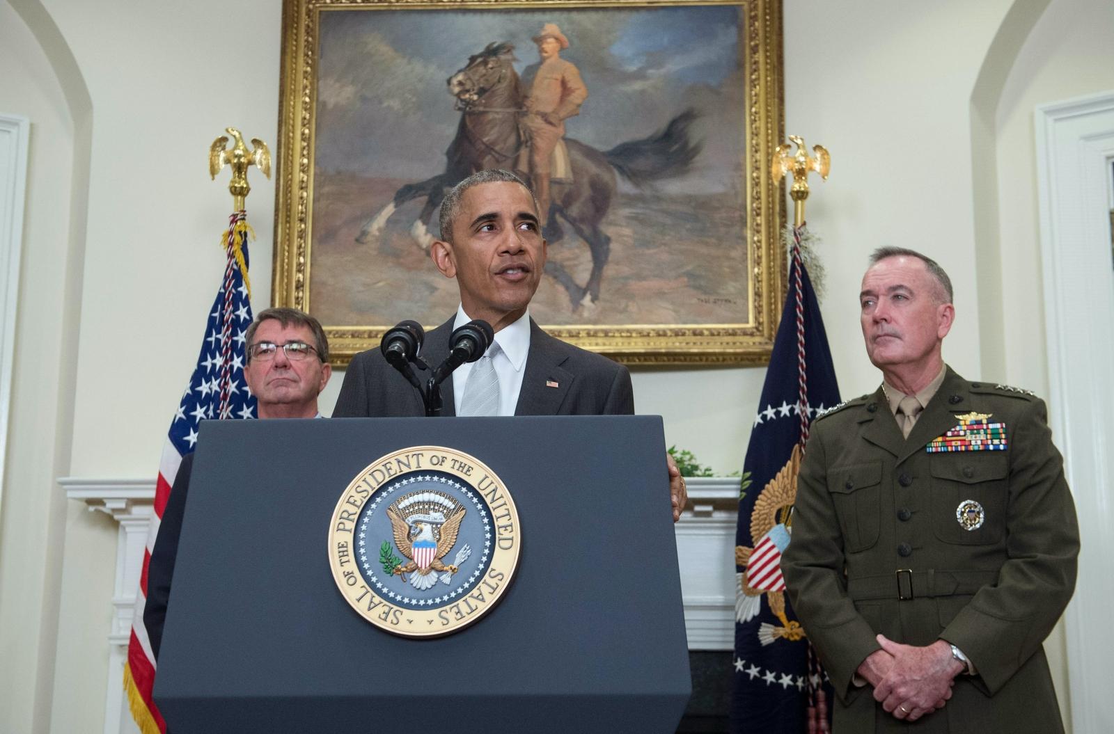 Obama NATO troops