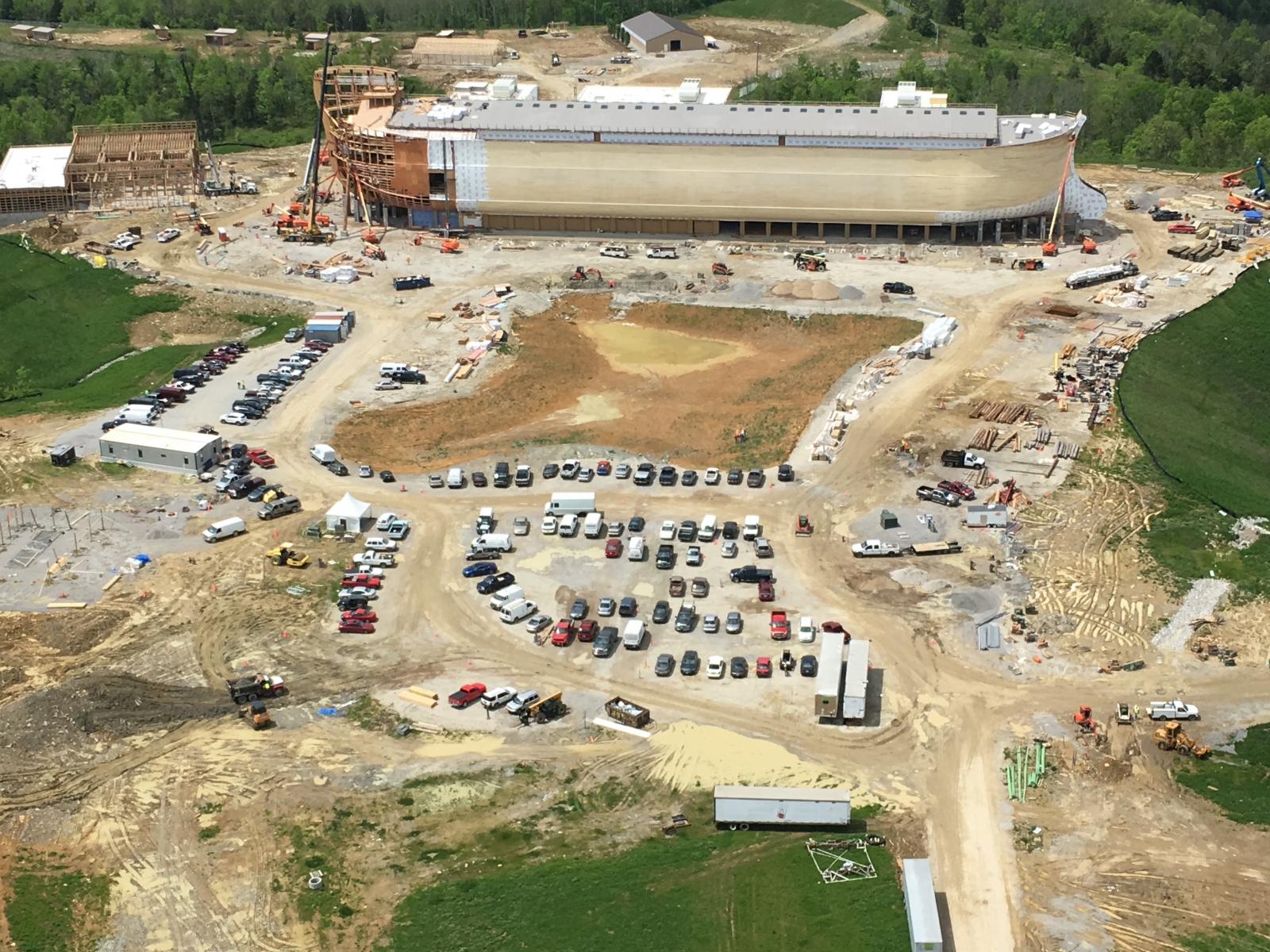 £100m model of Noah's Ark opens for business in Kentucky ...