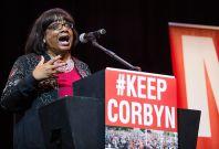 Keep Corbyn rally
