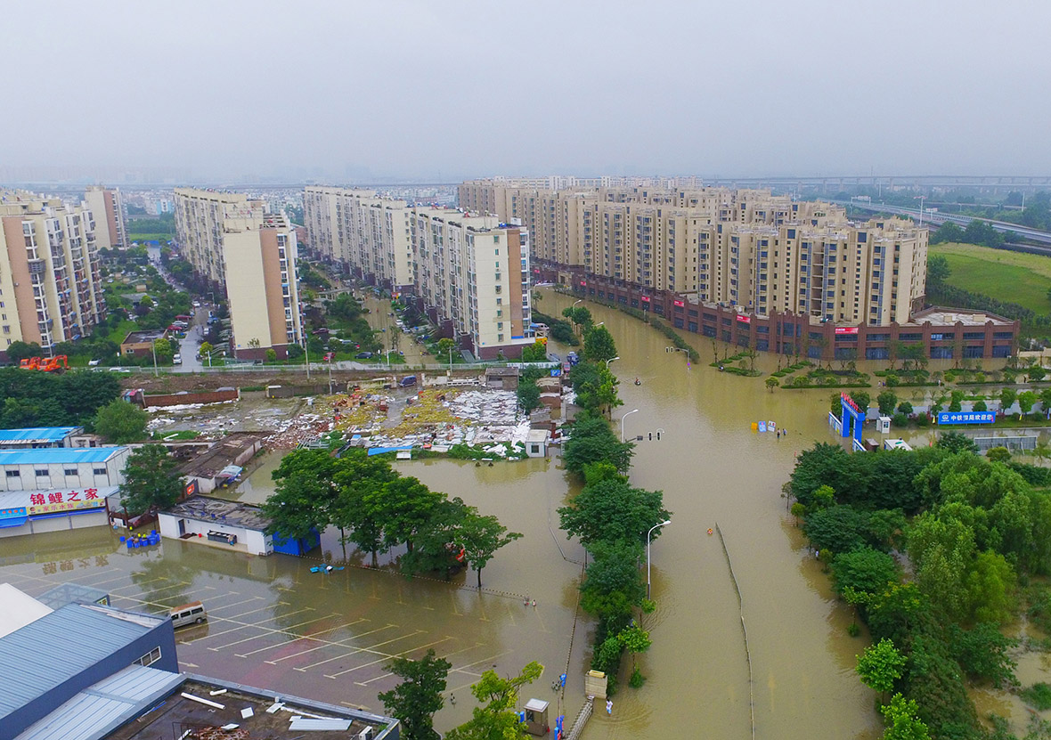 China floods
