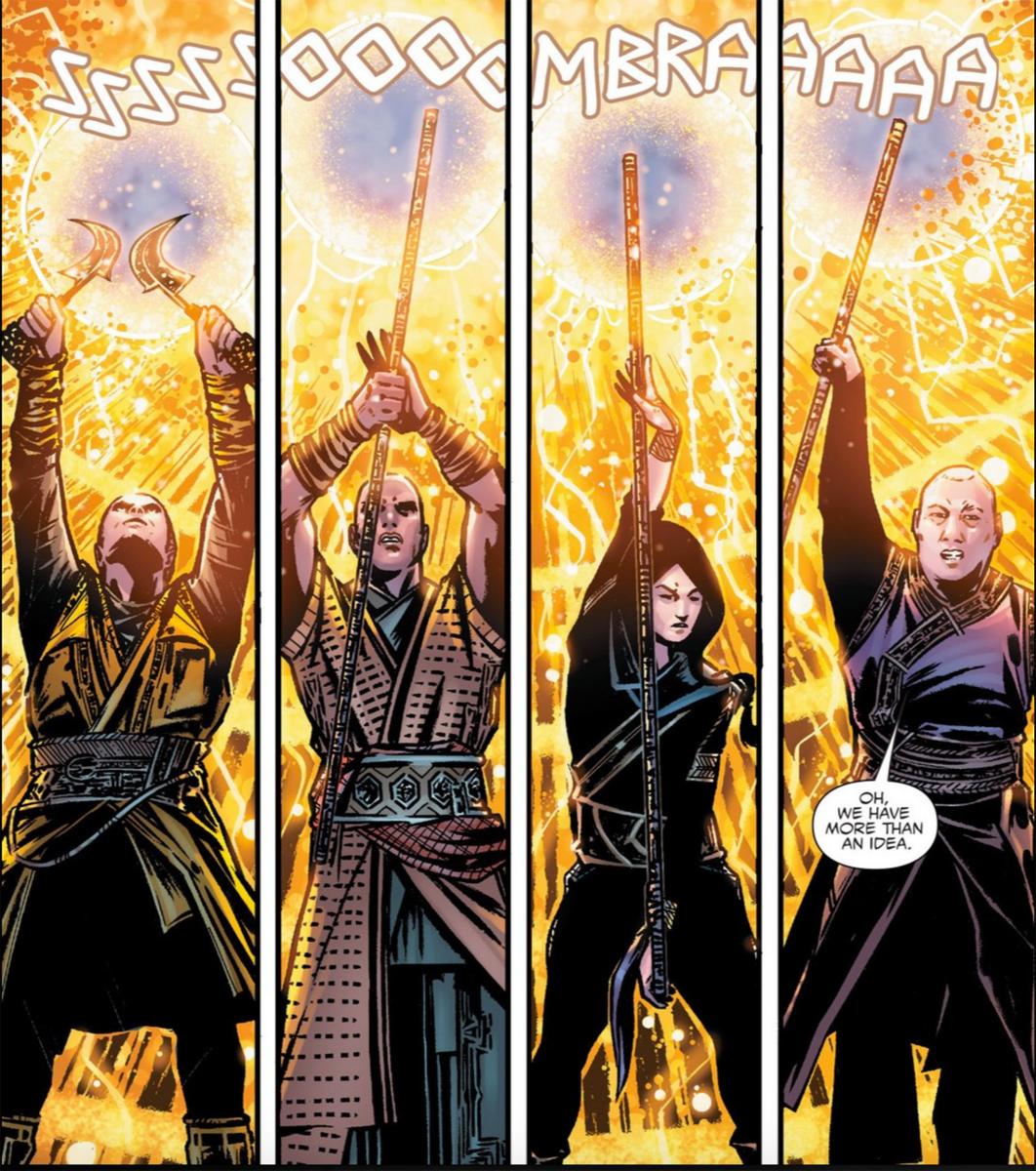 Doctor Strange prequel comic