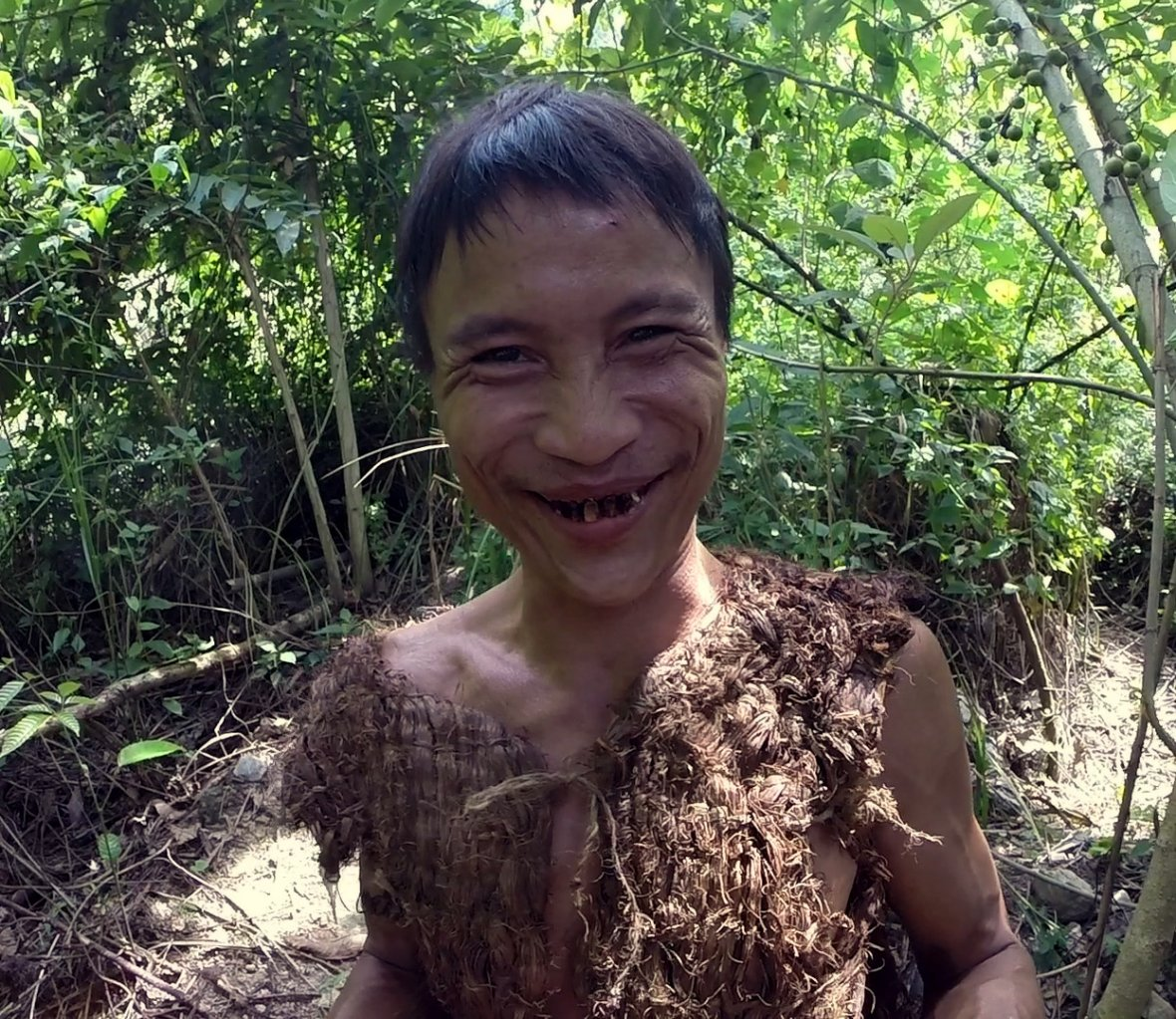 Vietnam's Tarzan was raised in the jungle, cut off from civilisation for 40  years. Watch his amazing story here