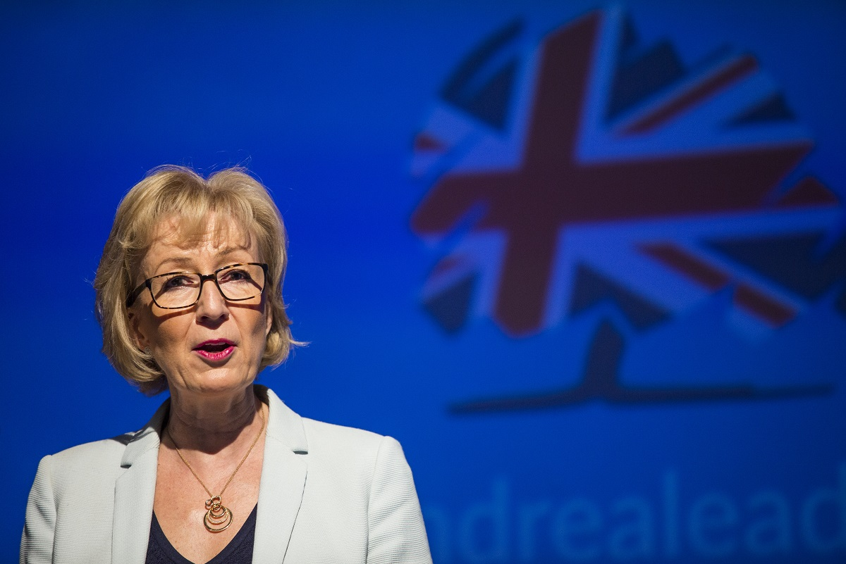tory leadership contest  andrea leadsom says gay marriage  u0026 39 hurts u0026 39  christians after backtracking