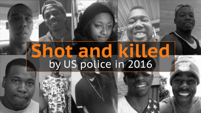 Black Lives Matter: African-Americans killed by police in 2016