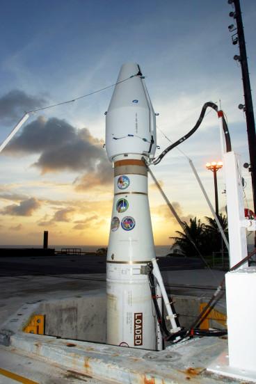 Ground-Based Midcourse Defense anti-missile interceptor