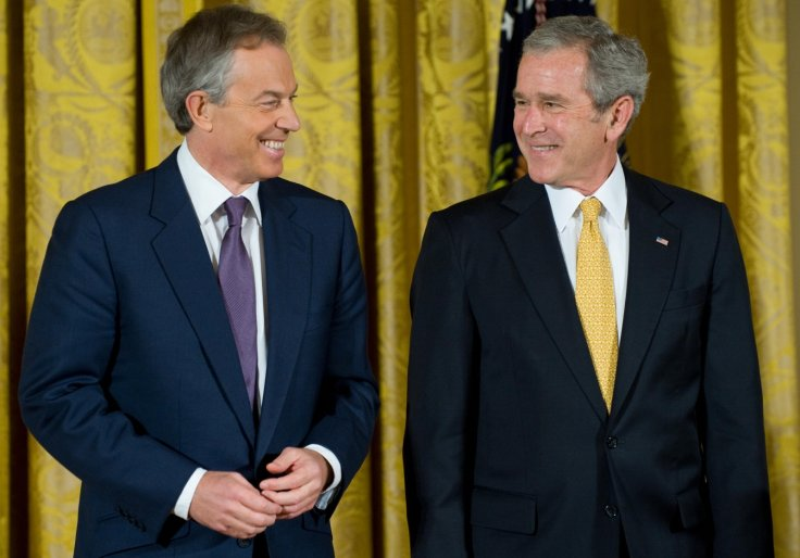 John Howard defends Blair