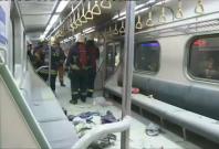 Taiwan: 24 injured as mystery blast rips through subway carriage
