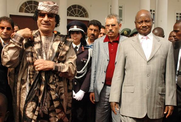 Gadhafi and Museveni