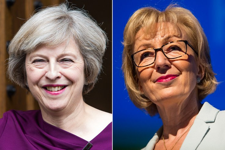 Theresa May, Andrea Leadsom