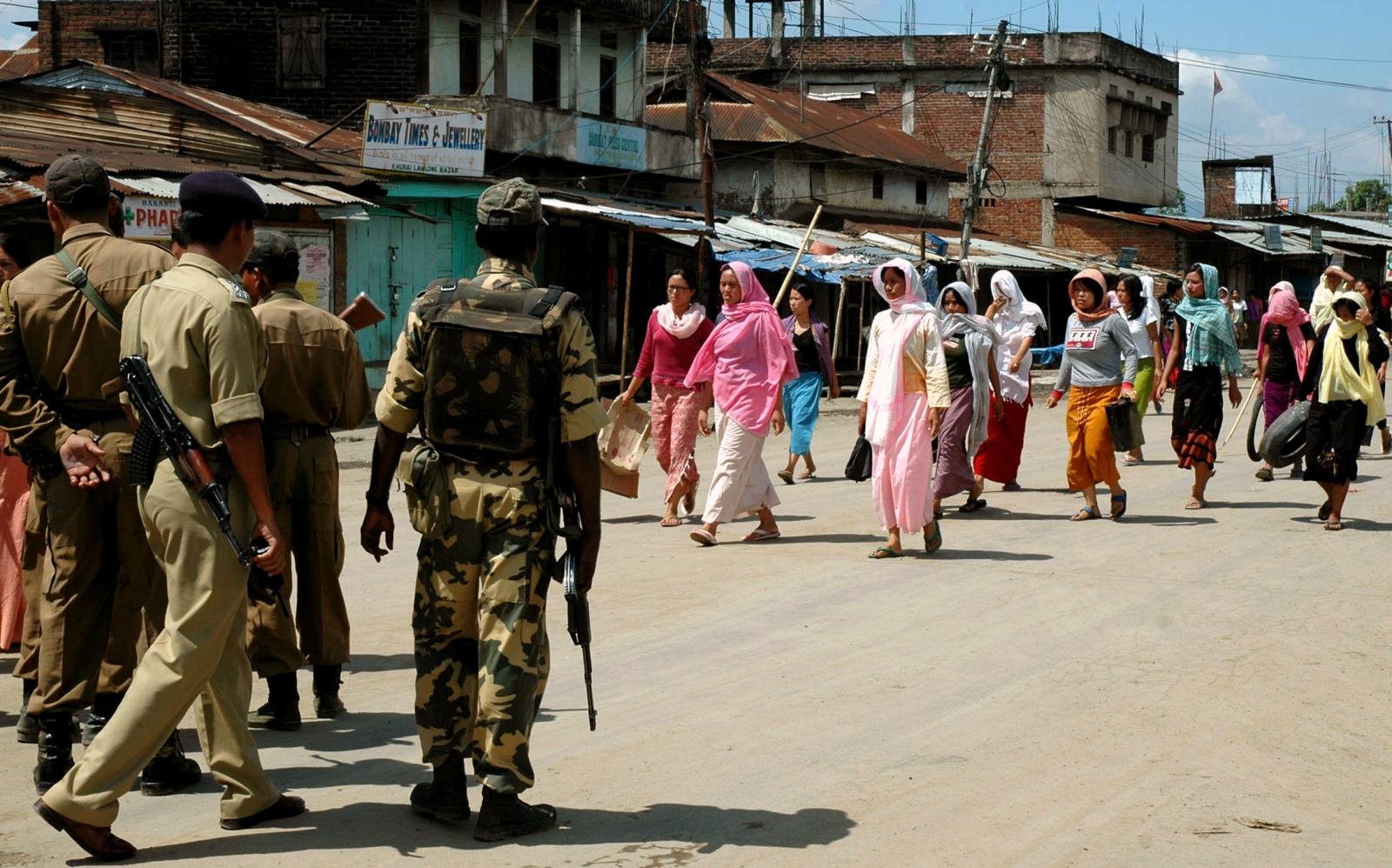 India Afspa army Manipur