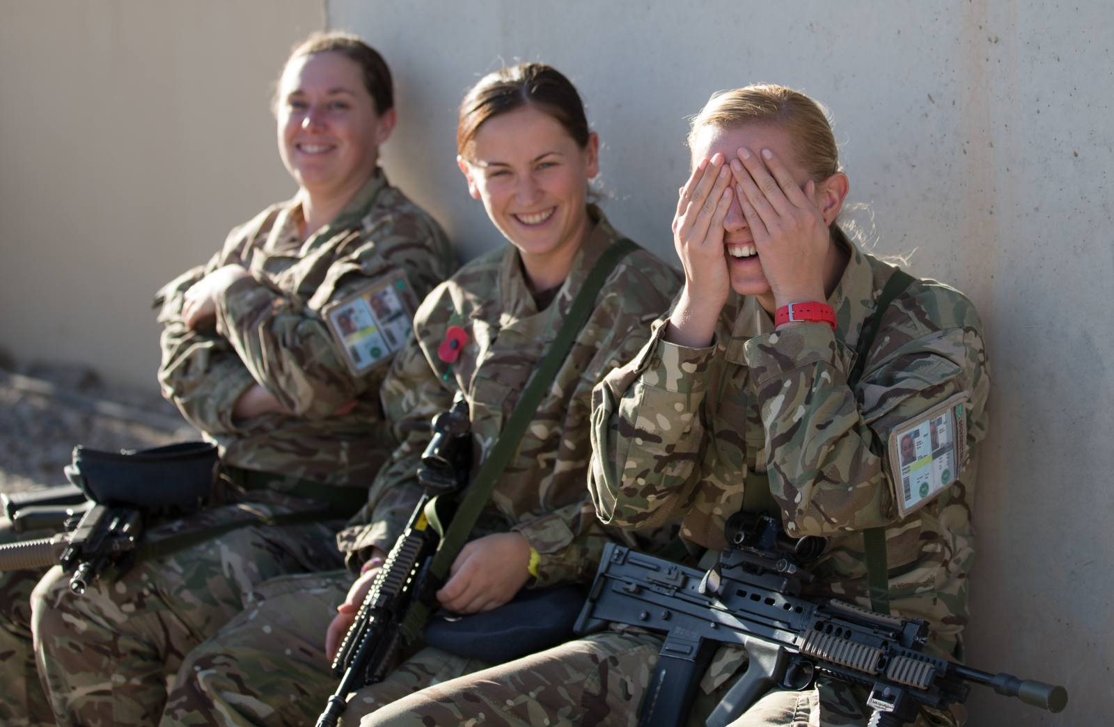 Britain's female soldiers