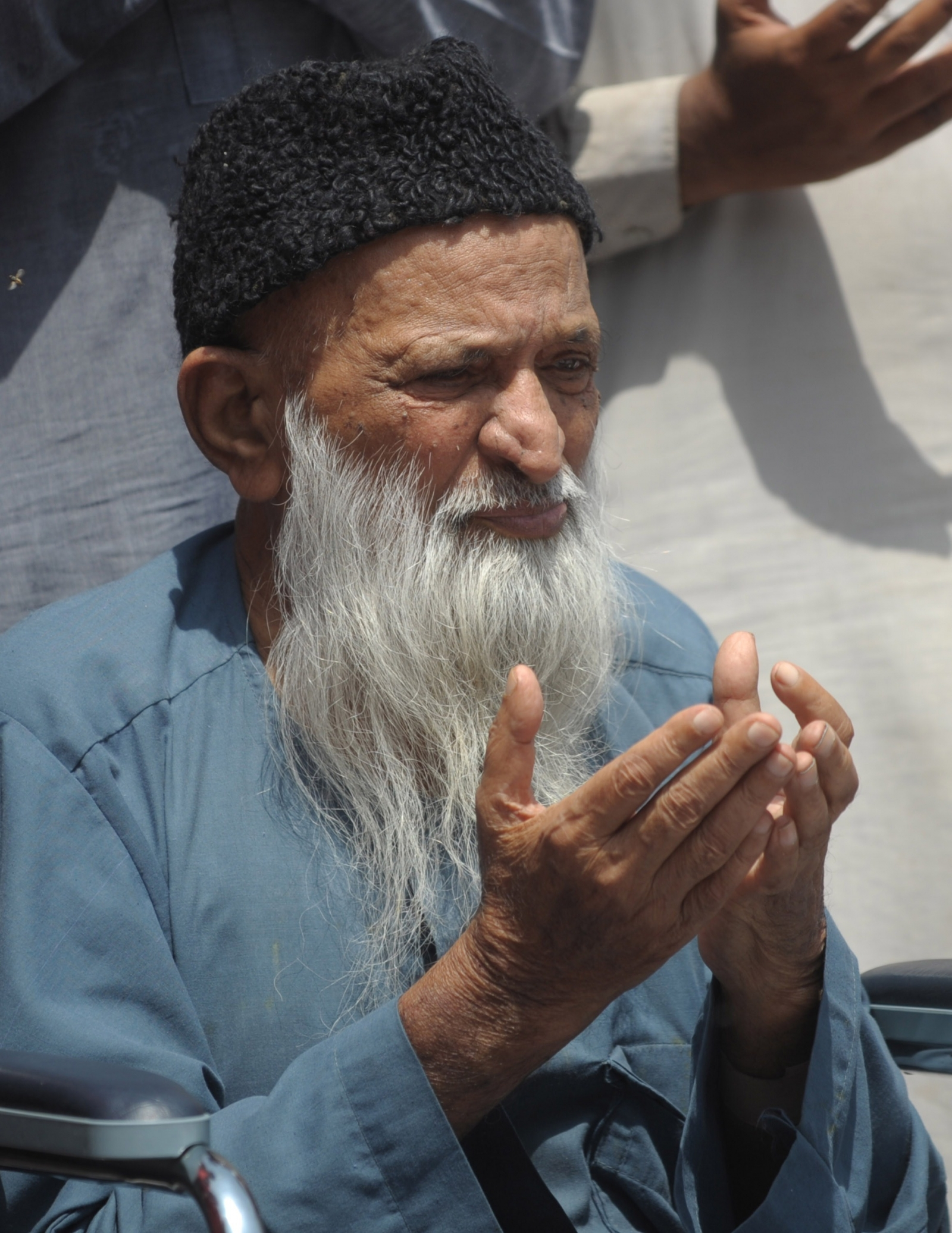 Pakistan's famous philanthropist Abdul Sattar Edhi