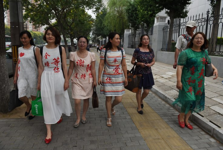 Wives of the detained lawyers