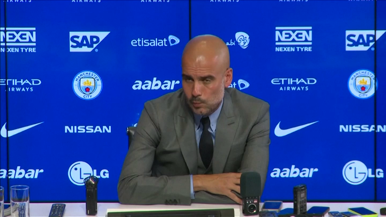Manchester City: Pep Guardiola relishing chance to test himself in Premier League