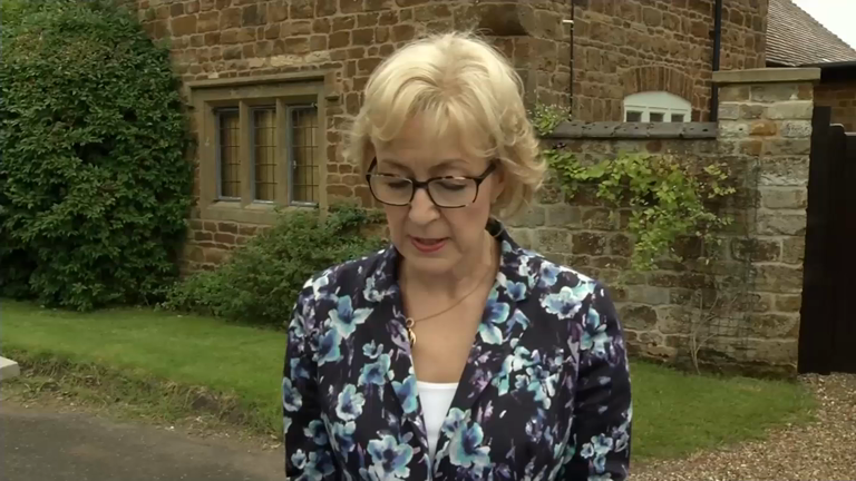 Andrea Leadsom 'disgusted' by motherhood quotes in Times article