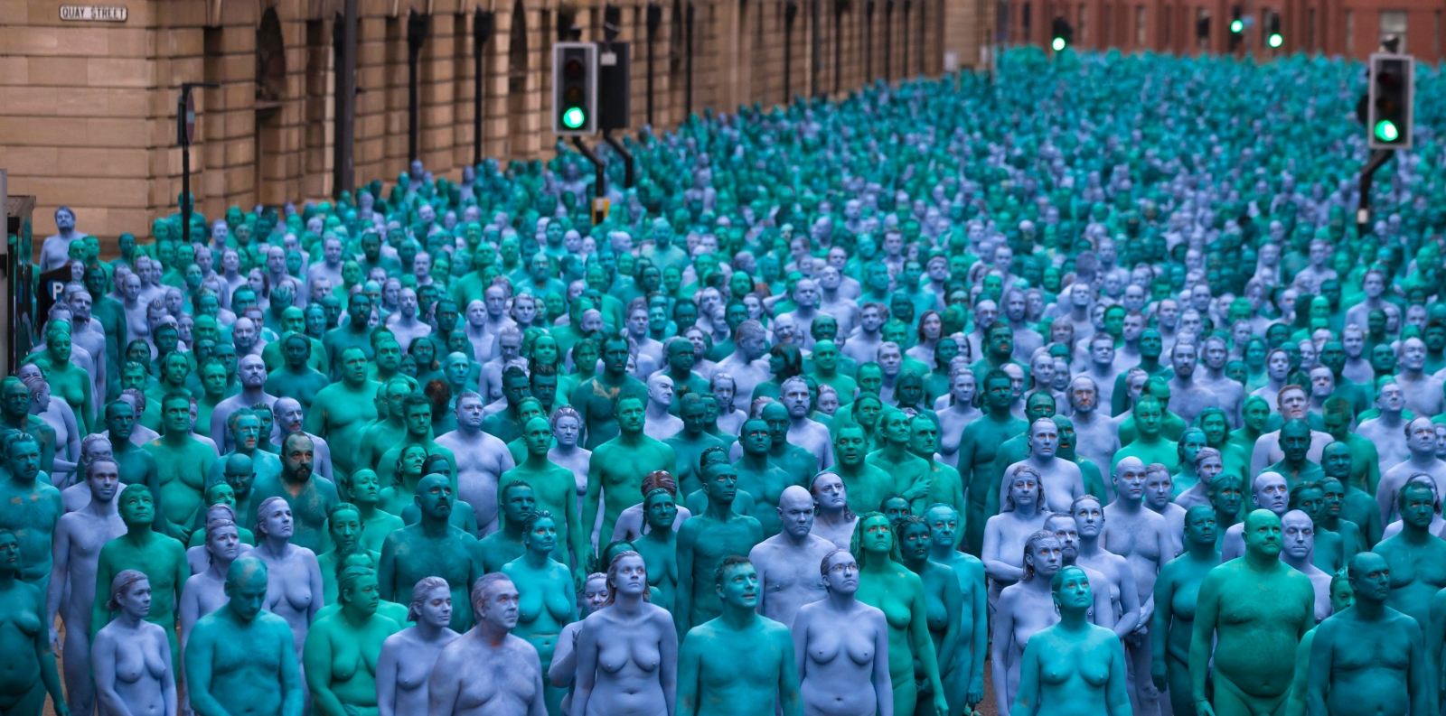 Thousands Of Naked People 76