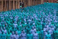 naked hull art installation